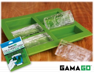 【 GAMAGO】 COLD HARD CASH ICE CUBE TRAY silicone ice tray