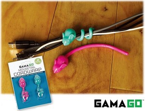 【 GAMAGO】 MOUSE TAIL CORD WRAP multi code wrap set