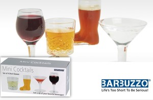 【 BARBUZZO GIFTS&BAR】 Mini Glass Set (4pcs set)