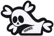 C-003/Chance Ghost/CHANCEステッカー(CHANCE SERIES)