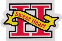 LS-010/Sweet Heart/Loveステッカー