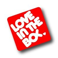 LS-019/LOVE IN THE BOX./Loveステッカー