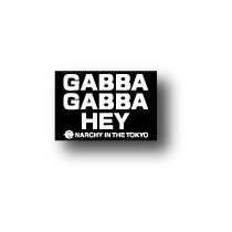 PU-013/GABBA/Mini Punkステッカー