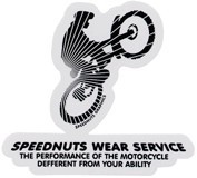 SPD-012/Wear Service/SPEEDNUTSステッカー