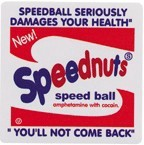 SPD-022/Speed Ball/SPEEDNUTSステッカー