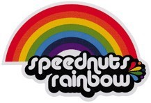 SPD-027/Rainbow/SPEEDNUTSステッカー