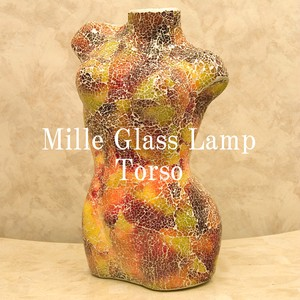 Glass Lamp Sewing Mannequin Lamp
