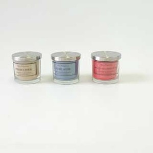 Point Reduction Big Candle Pop Aroma Glass Candle