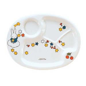 【 MIFFY】 CM-69 MIFFY LUNCH PLATE kids melamine plate