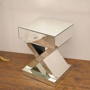 Sole Mirror Display Side Table