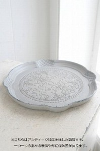 Gray Leaf Tray