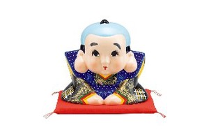 Fukusuke Floor Cushion Size 3 Size 4 Better Fortune Ornament