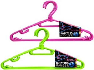 Rotation Clothes Hanger Set Of 3