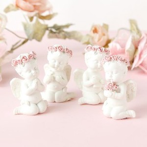Sitting Angel Objects Ornament Set