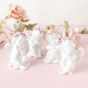Rose Angel Objects Ornament Set