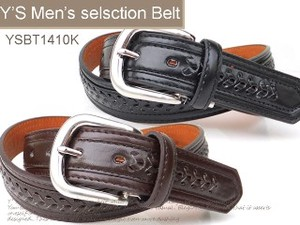 Casual Belt Men's Belt Cow Leather Belt Punching Type