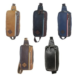 Synthetic Leather Body Bag