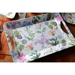 creative tops  LUXURY HANDLED TRAYS  ラージトレイ <ル ドゥーテ×フラワー>