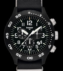 Traser(トレーサー) ウォッチ Professional 「Officer Chronograph Pro」 P6704.4A3.I2.01