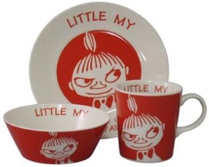 The Moomins Band Set Plate Bowl Mug