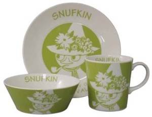The Moomins Band Set Napkin Plate Bowl Mug