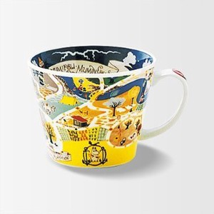 The Moomins Soup Mug Map