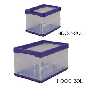 Hard Folded Container