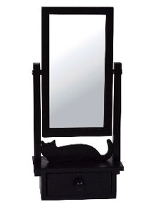 Limit Cat Mirror Stand