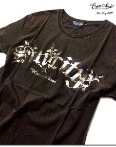 EVERSOUL Ancient Print Bio wash processing T-shirt