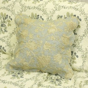 Cotton Quilt Cushion Cover Turquoise Series