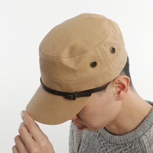 Belt Attached Military Cap
