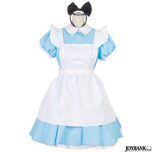 Alice Maid Costume One-piece Dress Set