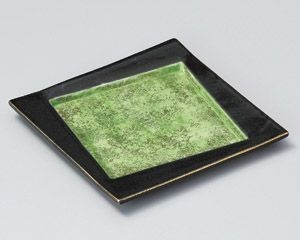 Gold Decoration Square Plate