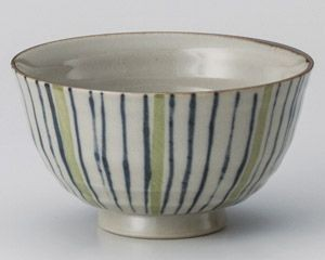 Bicolor Tokusa Rice Bowl