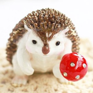 Hedgehog Jewelry Animal Jewelry Box
