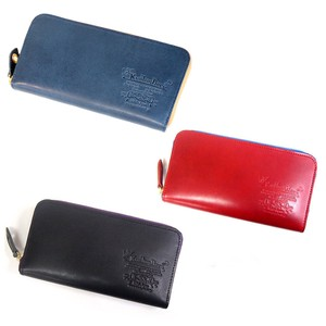 Tochigi Leather and Round Long Wallet