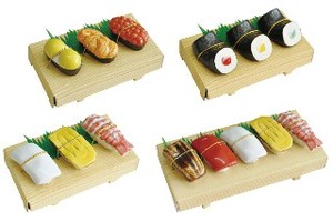 Sushi Chopstick Rest 3 Pcs Set 3 Types 5 Pcs Set Japan Mino Ware