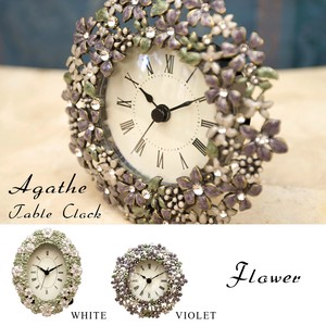 Table Clock Table Clock Flower