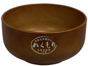 Wood Grain Donburi Bowl