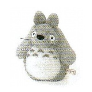 Soft Toy Totoro Gray