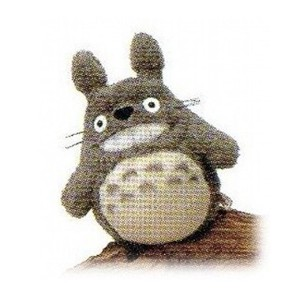 Soft Toy Totoro Smile