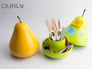 Pair pear Accessory Case pen Holder