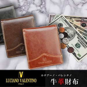 Two Wallet Men's Cow Leather