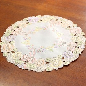 Embroidery Doily Ribbon ROSE