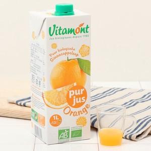 【ジュース】オーガニック オレンジジュース(1L) [ヴィタモン]