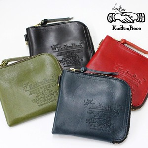 Tochigi Leather Half Wallet Maid Japan