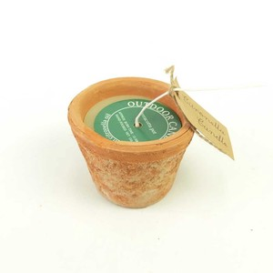 Candle Toro Terracotta Pot Candle