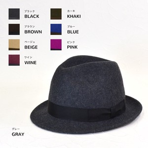 Lecht Color Felt Young Hats & Cap
