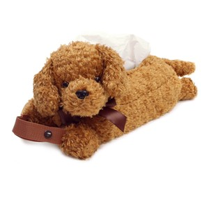 Tissue Box Cover / Holder Toy Poodle (Plush / Stuffed Toy)