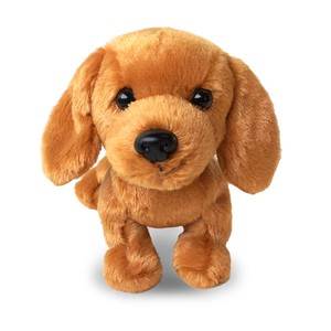Premium Puppy  black and tan dachs  (Plush dog / Stuffed Toy)
